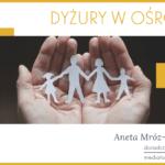 Niedziela, 8 grudnia – Dyżur pedagoga i mediatora rodzinnego