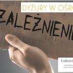 Niedziela, 26 stycznia – instruktor terapii uzależnień Łukasz Kowalczyk