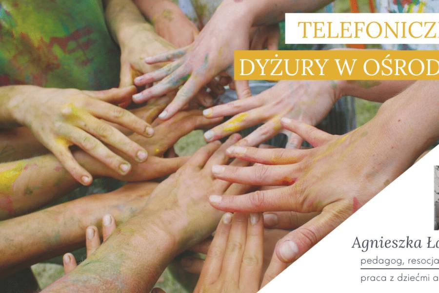 Czwartek, 2 kwietnia – pedagog, wsparcie dzieci autystycznych i ich rodziców – Agnieszka Łach