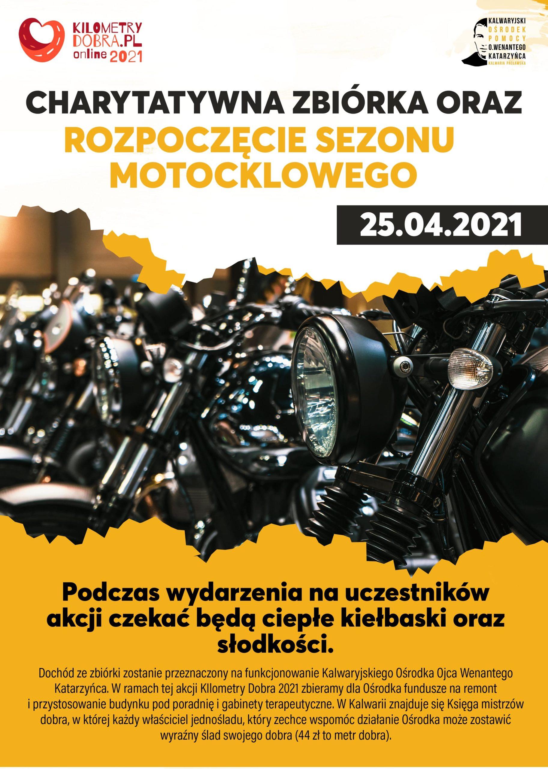Rozpoczęcie podkarpackiego sezonu motocyklowego 2021